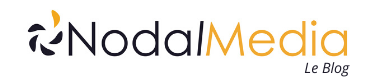 Logo Nodal Média le blog webmarketing